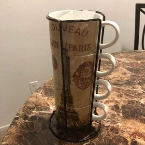 Paris Coffee Cup Set by Pier One